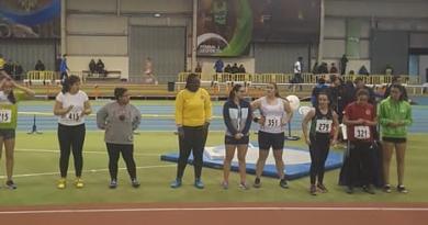 Ana Monteiro no Campeonato Nacional de Juvenis