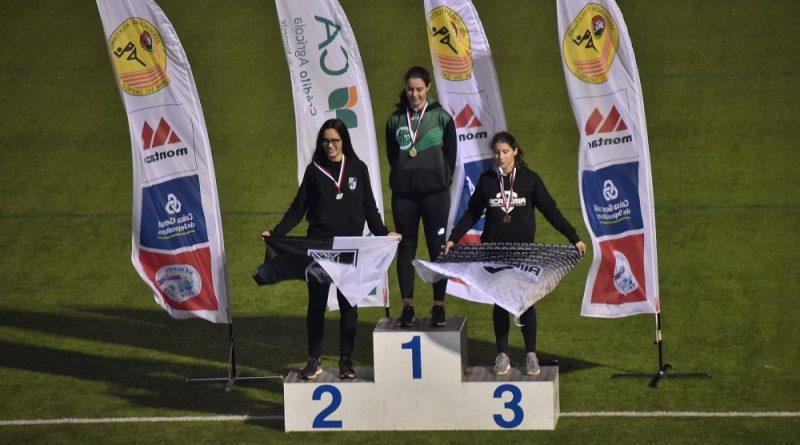 Mariana Sanches – Medalha de Ouro Lançamento do Peso