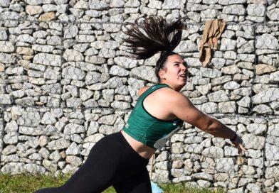 Ana Monteiro bate record regional