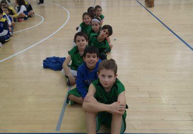 CTM Vila Pouca presente na concentração de Minibasquete