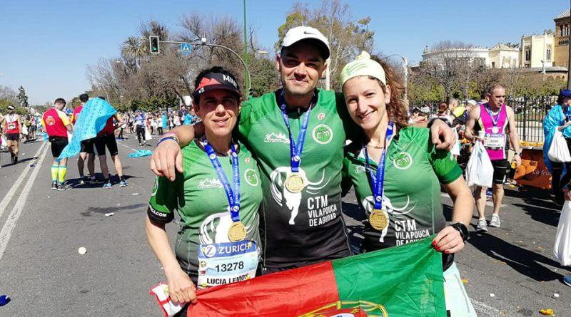 3 CTM´s na Maratona de Sevilha
